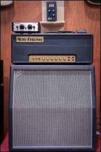 "FRIEDMAN's great 1959 type circuit amp, with Friedman proprietary attenuator the ""STFU"" (HOW cool is that???)"