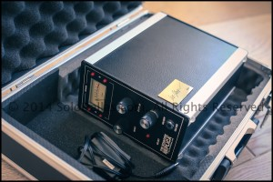 """Angus Young's """"Schaffer Replica®"""" Gold Tag Edition, serial number 001 ready in its case"""