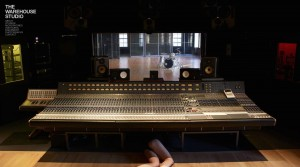 The famous Neve Console at Warehouse Studio, Studio 2 (image courtesy of Warehouse Studio)