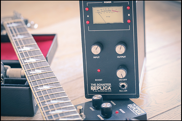 The Schaffer Replica® Gold Tag and TSR Classic pedal
