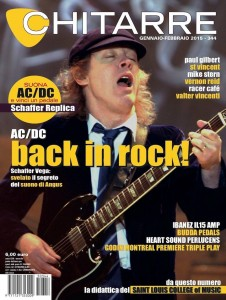 AC/DC Cover Story, Chitarre, Italy