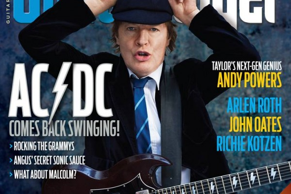 Guitar Player May 2015 AC/DC Cover Story