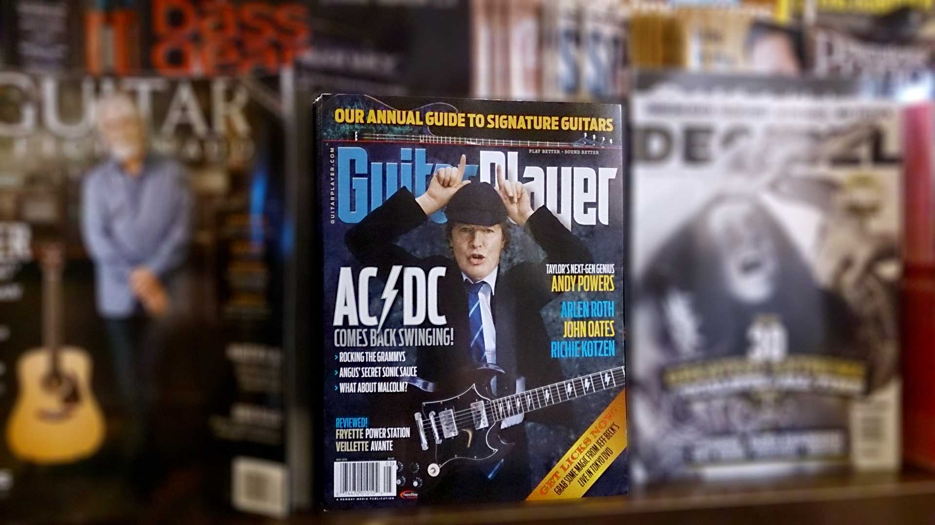 Guitar Player (May 2015) AC/DC Cover Story